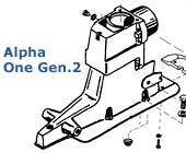 Alpha One Gen.2 Drive Teile bis 1997
