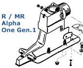 Alpha One Gen.1 (oben Drive)