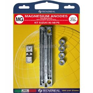 Anoden Satz Magnesium für Suzuki Aussenborder 90 - 140 PS