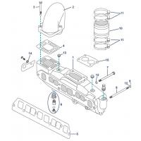 Abgas-Ersatzteile für 3.0L & 3.0LX GM 181 4 cyl (1990+)