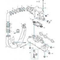Abgas-Ersatzteile für GM 4.3L V6 Vergaser und Einspritzer MPI / EFI