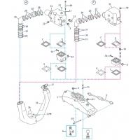 Abgas-Ersatzteile für GM 5.0L, 5.7L, 6.2L V8