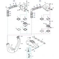 Abgas-Ersatzteile für GM 7.4 und 8.2L V8