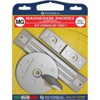 Anoden Satz Magnesium für Honda BF 90 - 130 PS