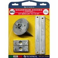 Anoden Satz Magnesium für Mercury 75-115 PS EFI