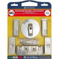 Anoden Satz Magnesium für Mercury Verado 6 Zylinder 200 - 350 PS