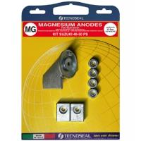 Anoden Satz Magnesium für Suzuki Aussenborder 40-50 PS
