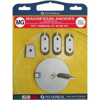 Anoden Satz Magnesium für Yamaha 40 - 60 PS