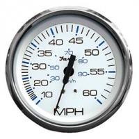 Faria Geschwindigkeitsanzeige bis 60 m/pH, SS White, 33811