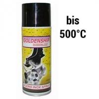 Hitzefeste Sprühfarbe silbergrau, 400 ml