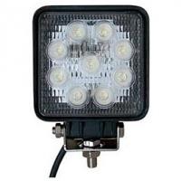 LED 12V / 24V Deckscheinwerfer 27W - 1400 Lumen