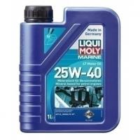 LIQUI MOLY SAE 25W-40 Benzin 4-Takt Marine Motoröl mineralisch, 1 Liter