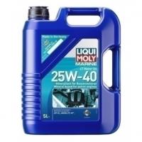 LIQUI MOLY SAE 25W-40 Benzin 4-Takt Marine Motoröl mineralisch, 5 Liter