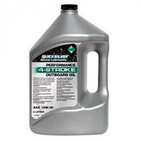 Quicksilver 10W30 Motoröl für 4-Takt Aussenborder, 4 Liter, 858046